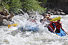 Whitewater Rafting at Big Rock Candy Mountain