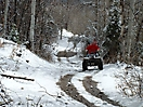 ATV Trail to Bullion Falls in November
